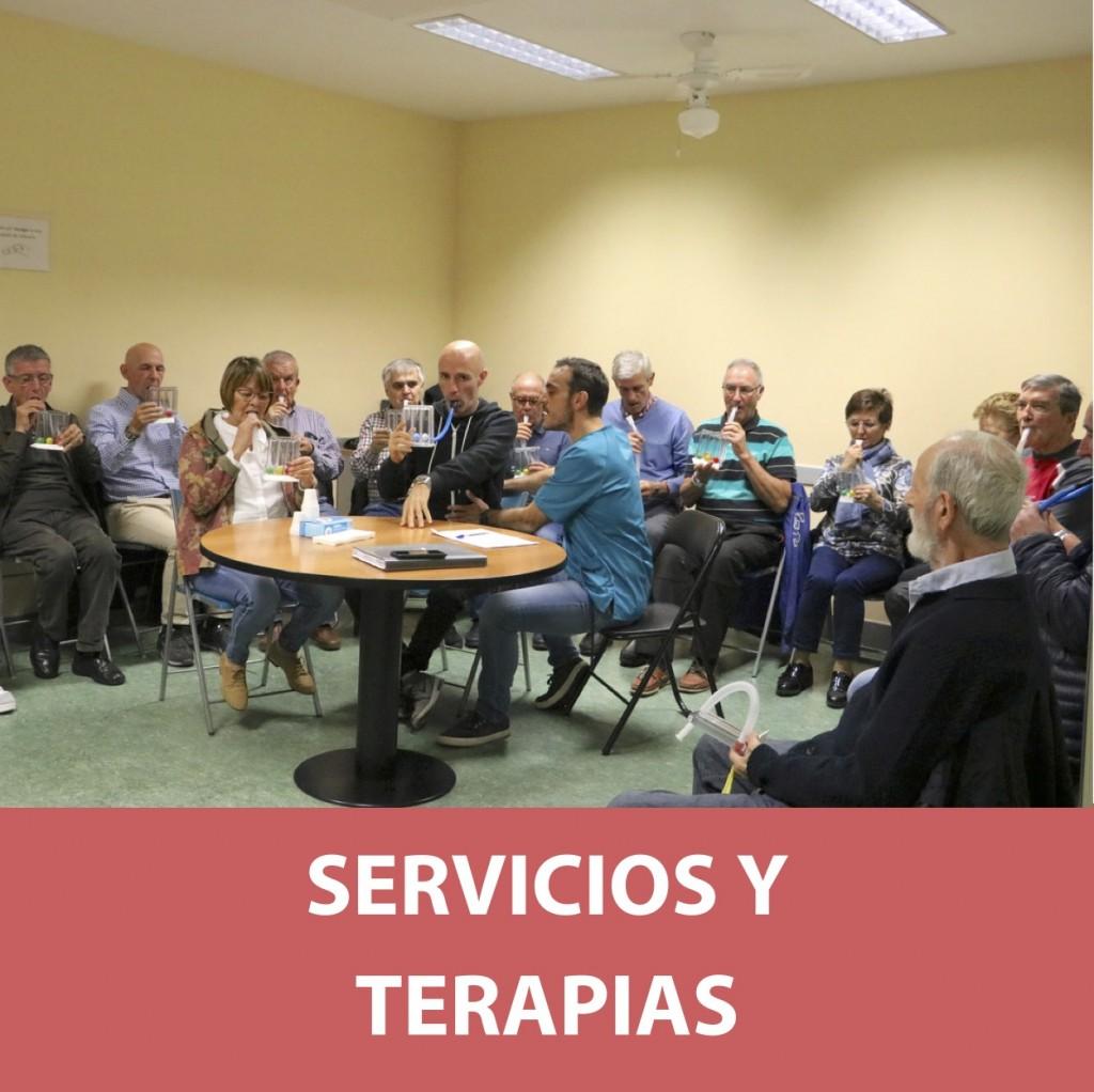 Servicios y terapias en ASPARBI