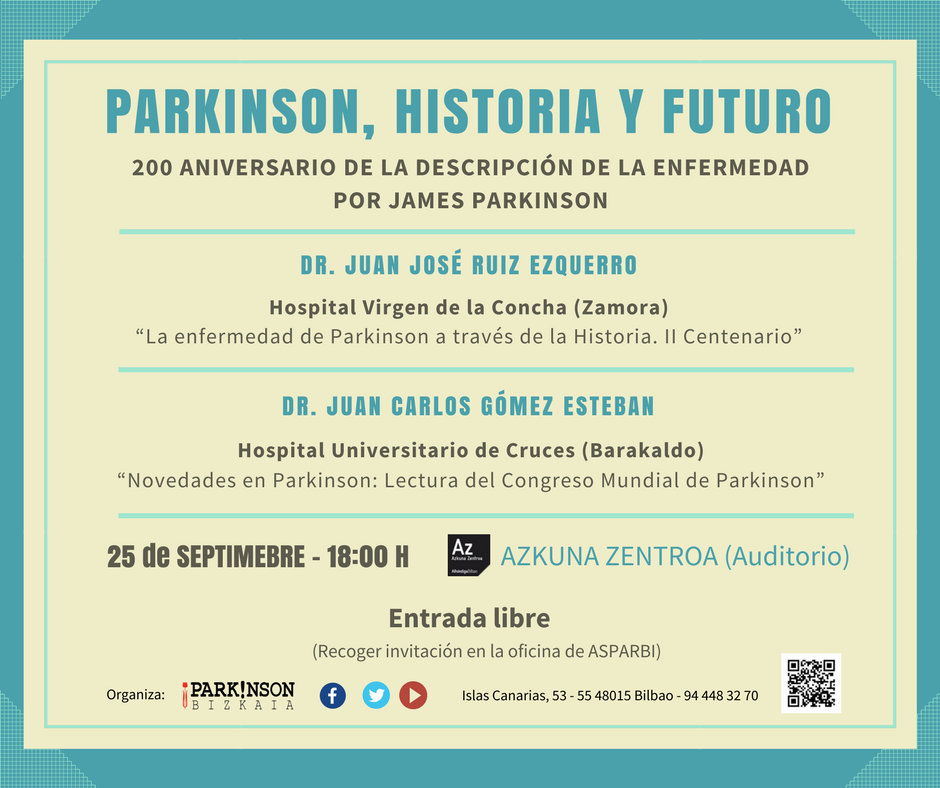 Conferencia sobre párkinson