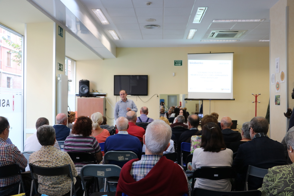 Conferencia BioBanco Vasco en ASPARBI