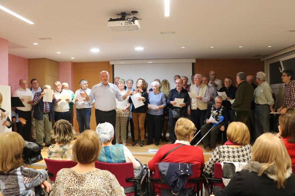Coro de ASPARBI en el Hospital San Eloy