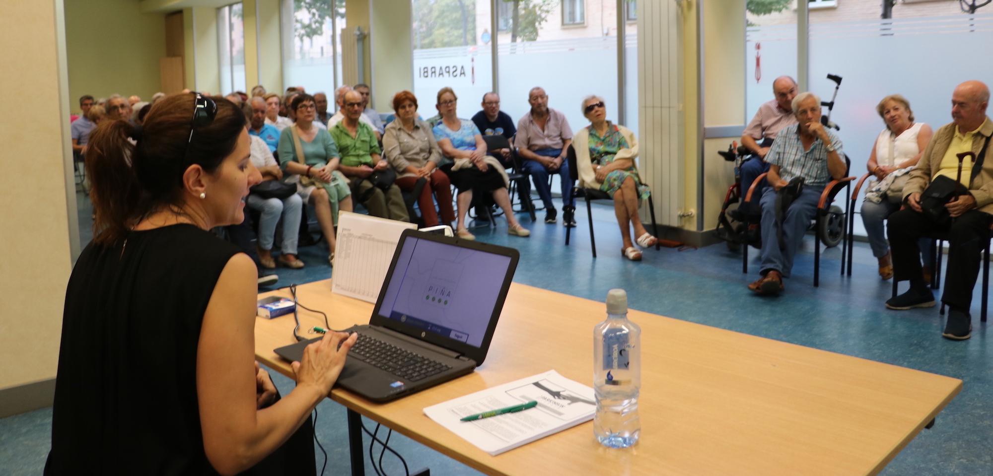 Conferencia Estimulación Cognitiva ASPARBI